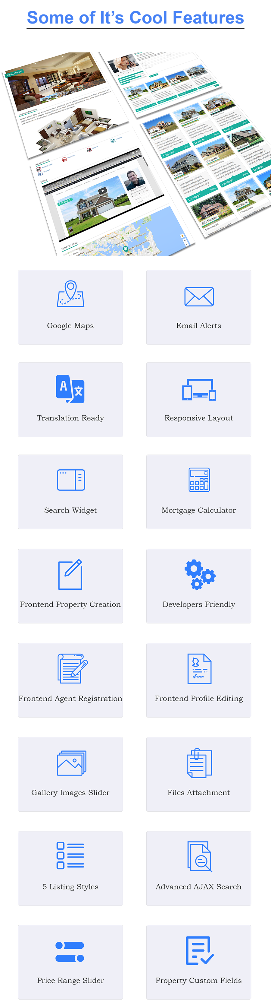 Real Estate Manager Pro (WordPress) Real Estate Manager Pro (WordPress) features